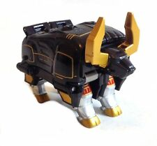 Power rangers wild force bull robot toy figure part of wild force megazord