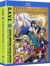 The Legend of the Legendary Heroes Complete Series Ep. 1-25 Anime DVD+Blu-ray R1