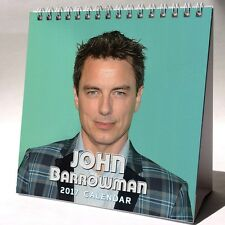 John Barrowman Desktop Calendar 2017 NEW Legends of Tomorrow Arrow Flash Malcolm