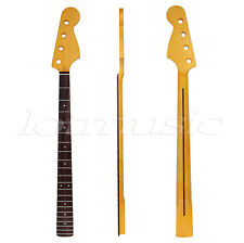 Maple Bass Guitar Neck For JB Replacement Parts Replacement Rosewood 21 Fret