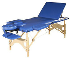 Sivan Health and Fitness Three Fold Reiki Portable Massage Table & Carrying Case