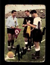 Hans Schäfer DFB Weltmeister 1954 Heinerle Sammelbild Original Signier+ A 150097