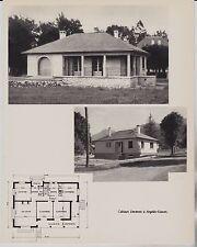 ANNEES 1950  --  ARCHITECTE  MAISON  DECROIX A ARGELES GAZOST   3G540