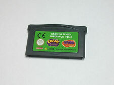 Nintendo GBA-Crash & Spyro super pack vol. 3