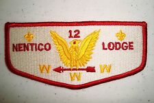 OA NENTICO LODGE 12 BALTIMORE MD SMOOTHER WING GOLDEN EAGLE VARIANT SERVICE FLAP