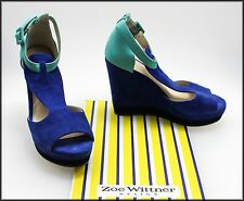 WITTNER WOMEN'S FASHION WEDGED SUEDE HEELS SHOES SIZE 7 AUST 38 EURO NEW