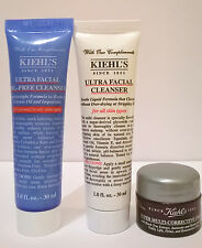 Kiehl's Ultra Facial Cleanser/Oil-free Cleanser/ Multi-corrective Cream