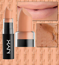 NYX MATTE LIPSTICK - SHY - MLS26 - LIGHT BEIGE NUDE WARM HINT OF PINK