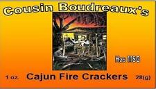 3 Pks Cousin Boudreaux Cajun Fire Crackers  Mix - Ebay Special Free Ship