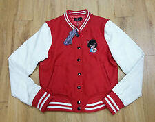 Living Dead Souls/ American baseball style jacket/ ladies/ red/ Size S - 357