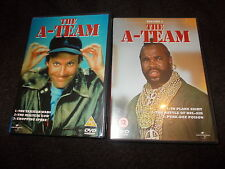 2 DVD Set THE A TEAM Volume 1 & 2 Vol Mr T George Peppard Dirk Benedict GETFAST