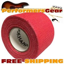 Stick Handler Premium Percussion, Timbales, Cymbal Drumstick Grip Tape Red NEW
