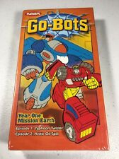 Playskool Go-Bots Year One Mission Earth RARE NEW SEALED VHS Tape Transformers g
