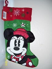 Christmas  Mickey Mouse Stocking New with Tags