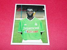 PAPE SARR AS SAINT-ETIENNE ASSE VERTS CHAUDRON FOOTBALL PANINI 2000-2001
