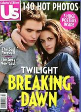 US Weekly Magazine ROBERT PATTINSON KRISTEN STEWART - TWILIGHT BREAKING DAWN