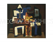 "PICASSO PABLO - THREE MUSICIANS - Artwork Reproduction 11"" x 14""  (650)"