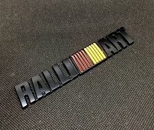 RalliArt 3D car Metal Emblem Refitting Badge Sticker Car Styling Auto Decor