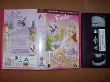 BARBIE - RAPUNZEL - VHS