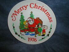 "CHRISTMAS 1976 ""DENNIS THE MENACE"" BY HANK KETCHAM COLLECTOR PLATE"