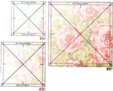 FUSSY CUT QUILTING RULER SET, 3 Pieces From Quilt In A Day NEW