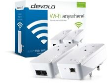 BRAND NEW DEVOLO 9839 POWERLINE DLAN 550+ PASS THROUGH WIFI STARTER KIT