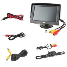 "Car Rear View Backup Reverse IR Night Vision Camera 4.3"" TFT 2CH LCD Monitor Kit"