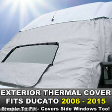 FIAT DUCATO 2006 - 2015 Motorhome Exterior | External Window Thermal Cover Blind