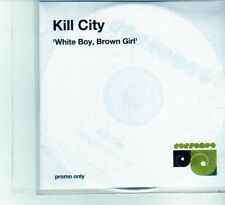 (DU563) Kill City, White Boy, Brown Girl - DJ CD