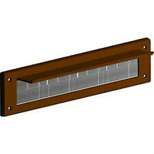 Stormguard Brown LETTER BOX Spazzola a pennello da barba Immersione excluder pvc con coperchio cernierato