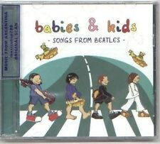 THE BEATLES BABIES & KIDS FOR CHILDREN CD NEW LULLABY