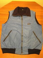 Vintage Patagonia Sky Blue Mens XL Vest Fleece Nylon