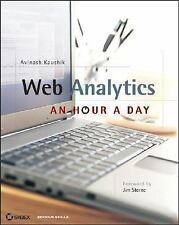 Web Analytics: An Hour a Day, Kaushik, Avinash, Acceptable Book