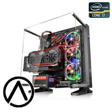 Intel i7-6700K OC 4.5GHz GeForce GTX 1080 SLI SSD Liquid Cooled Gaming Computer