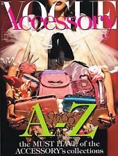 VOGUE ACCESSORY Italia #5 9/2012 A-Z of COLLECTIONS Margarita Pugovka TRENDS New