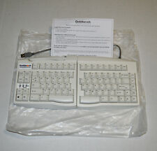 NEW Goldtouch GTU-0033 SKR-4200U KEYOVATION Ergonomic Split Wired Keyboard/White