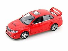 Subaru WRX STI 1/36 Scale Diecast CAR model Pull back action RED