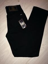 "NWT Women's ""Istante"" Jeans, Black, Size 6 By VERSACE"