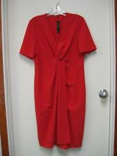 ST. JOHN by Marie Gray red sheath dress size 6