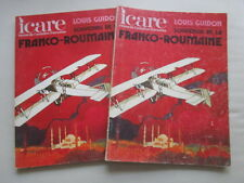 ICARE AVIATION FRANCAISE 73 COMPAGNIE FRANCO ROUMAINE CIDNA