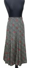 WINDSMOOR Skirt Size 18 High Waisted Black White & Red Polkadots