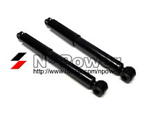 GAS SHOCK ABSORBERS REAR PAIR for NISSAN TERRANO D21 2 DOOR 1986-1994 TD27 2.7L