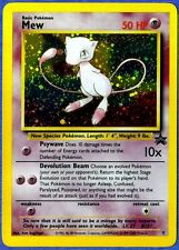 MEW - Black Star  Promo Card - HOLO- FOIL Card (Pokemon)