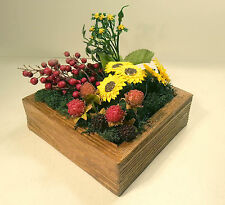 Cuadro/Jardín vertical,centro de mesa decorado con flores artificiales