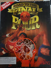 "BASKETBALL 1991-92 NCAA ROAD TO THE FINAL FOUR IBM PC 5.25"" DISK COMPUTER GAME"