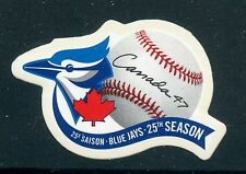 Weeda Canada 1901i VF NH Die cut Toronto Blue Jays single from Annual Collection