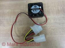 "Power Logic PL40S12L Cooling Fan 12VDC Brushless 1-1/2"" 2 Wires - Used"