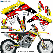 RM60 GRAPHICS KIT RM 60 SUZUKI DECALS DECO STICKERS ALL YEARS PIT BIKE MOTO