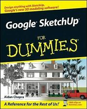 Google SketchUp For Dummies Chopra, Aidan Paperback