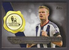 Topps Premier Gold 2015 - Best of Barclays BB-19 Chris Brunt - West Brom